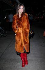 EMILY RATAJKOWSKI Night Out in New York 01/24/2018