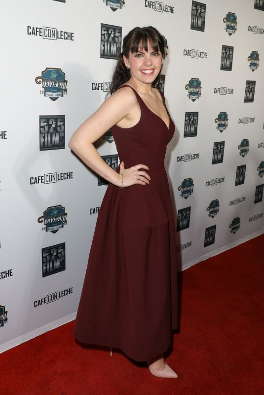 EMILY SANDIFER at Cafe Con Leche Premiere in Los Angeles 01/25/2018
