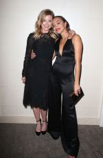 EMILY VANCAMP and ASHLEY MADEKWE at 75th Annual Golden Globe Awards in Beverly Hills 01/07/2018