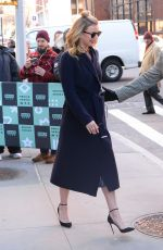 EMILY VANCAMP Arrives at AOL Build in New York 01/25/2018
