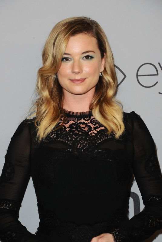 EMILY VANCAMP at Instyle and Warner Bros Golden Globes After-party in Los Angeles 01/07/2018