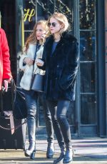 EMILY WICKERSHAM Out and About in New York 01/09/2018