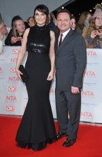 EMMA BARTON at National Television Awards in London 01/23/2018