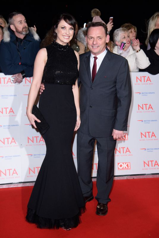 EMMA BARTON at National Television Awards in London 01/23/2018
