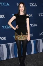 EMMA DUMONT at Fox Winter All-star Party, TCA Winter Press Tour in Los Angeles 01/04/2018