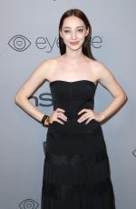 EMMA DUMONT at Instyle and Warner Bros Golden Globes After-party in Los Angeles 01/07/2018