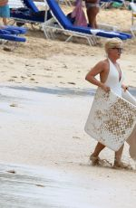 EMMA FORBES at a Beach in Barbados 01/02/2018