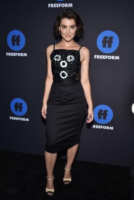 EMMA LAHANA at 2018 Freeform Summit in Hollywood 01/18/2018