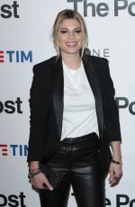 EMMA MARRONE at The Post Premiere in Milan 01/15/2018