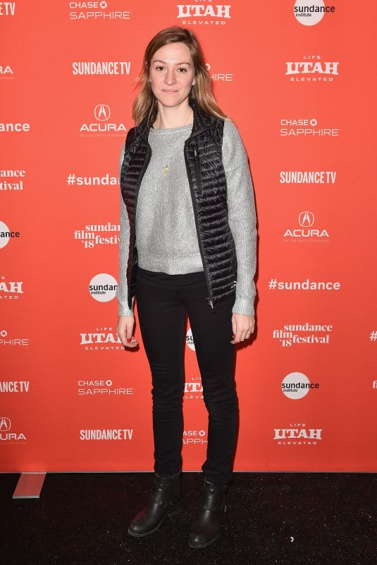 EMMA PILDES at Jane Fonda in Five Acts Premiere at 2018 Sundance Film Festival 01/20/2018
