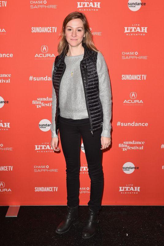 EMMA PILDES at Jane Fonda in Five Acts Premiere at 2018 Sundance Film Festival 01/20/2018