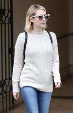 EMMA ROBERTS Out and About in Beverly Hills 01/09/2018