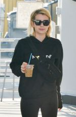 EMMA ROBERTS Out and About in Beverly Hills 01/11/2018