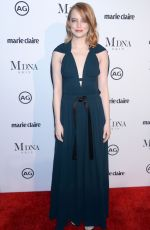 EMMA STONE at Marie Claire Image Makers Awards in Los Angeles 01/11/2018