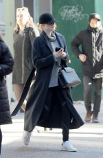 EMMA STONE Out in New York 01/25/2018