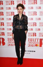 EMMA WILLIS at Brit Awards Nominations Launch Party in London 01/13/2018