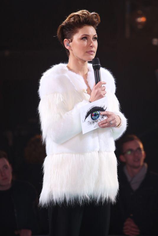 EMMA WILLIS at Celebrity Big Brother Eviction in Borehamwood 01/26/2018