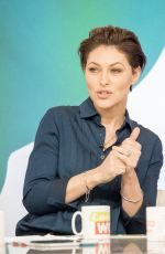 EMMA WILLIS at Loose Women Show in London 01/04/2018