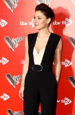 EMMA WILLIS at The Voice UK Launch at Ham Yard Hotel  in London 01/03/2018