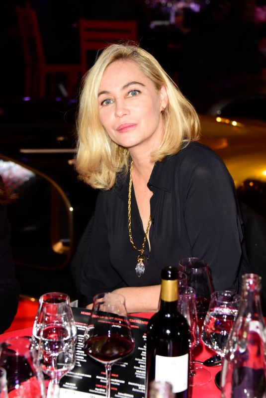 EMMANUELLE BEART at 33nd International Automobile Festival in Paris 01/30/2018