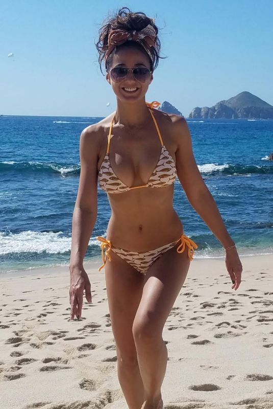 EMMANUELLE CHRIQUI in Bikini at a Beach in Cabo San Lucas, 01/26/2018 Instagram Picture