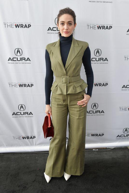 EMMY ROSSUM at Acura Studio at 2018 Sundance Film Festival in Park City 01/22/2018