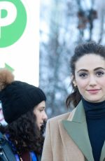 EMMY ROSSUM Out at Sundance Film Festival 01/22/2018