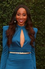 ERICA ASH at 49th Naacp Image Awards in Pasadena 01/14/2018