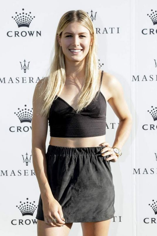 EUGENIE BOUCHARD at Australian Open Players Party in Melbourne 01/14/2018