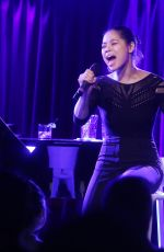 EVA NOBLEZADA Performs at Her Solo Concert at Green Room 42 in New York 01/03/2018