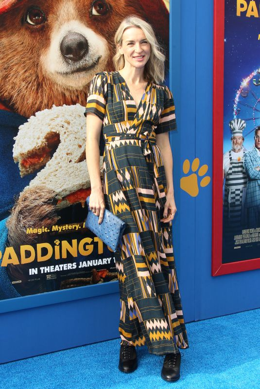 EVER CARRADINE at Paddington 2 Premiere in Los Angeles 01/06/2018