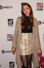FABIANNE THERESE at Small Town Crime Special Screening in Los Angeles 01/09/2018