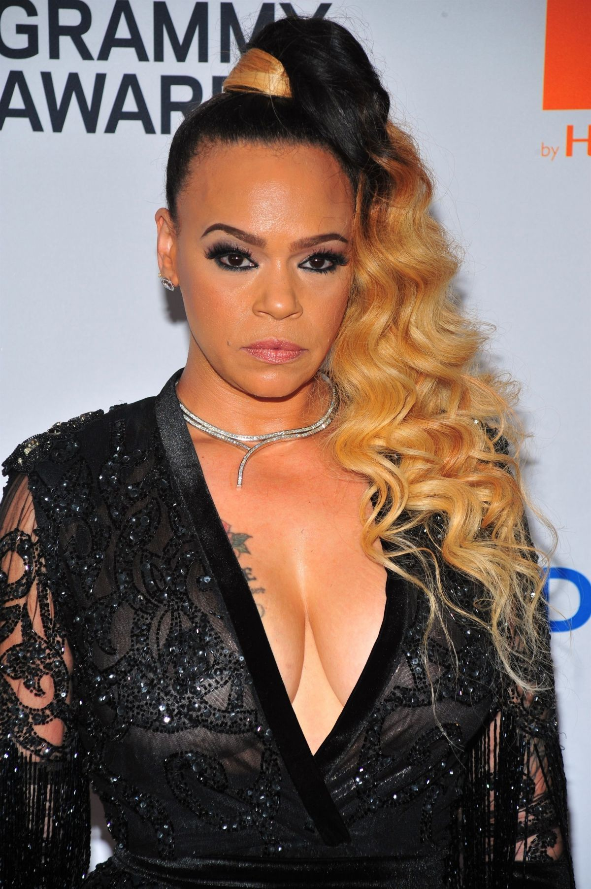 Faith Evans At Clive Davis And Recording Academy Pre Grammy Gala In