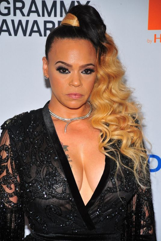 FAITH EVANS at Clive Davis and Recording Academy Pre-Grammy Gala in New York 01/27/2018