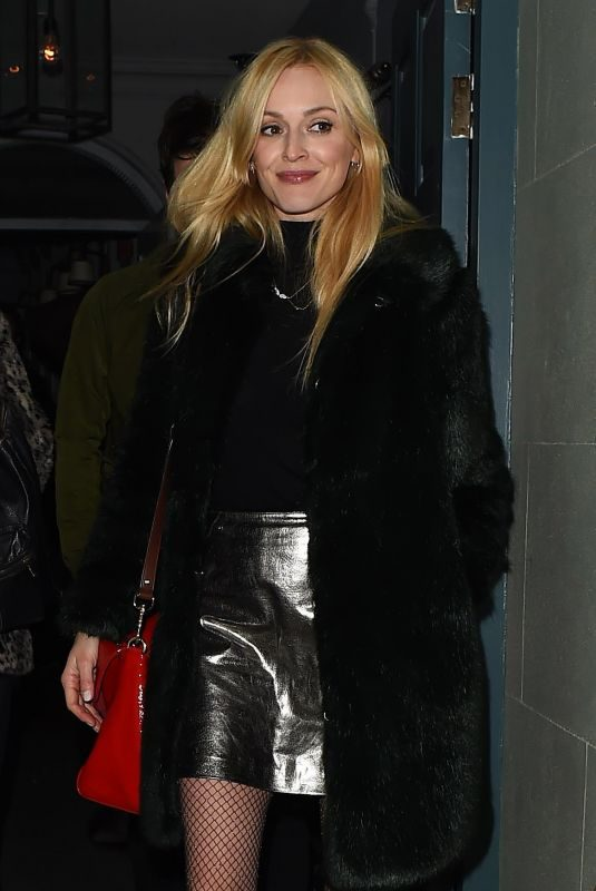 FEARNE COTTON at Soho House in London 01/18/2018