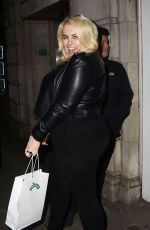 FELICITY HAYWARD Arrives at Hello Love Robinsons Event in London 01/30/2018