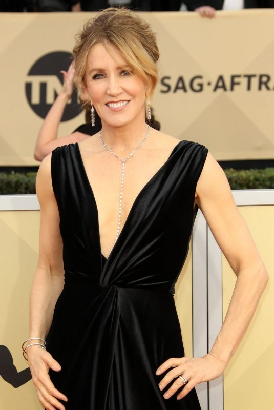 FELICITY HUFFMAN at Screen Actors Guild Awards 2018 in Los Angeles 01/21/2018