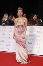 FERNE MCCANN at National Television Awards in London 01/23/2018