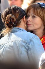 FRANCES FISHER and FRANCESCA EASTWOOD at 2018 Women