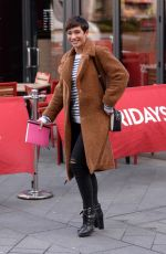 FRANKIE BRIDGE Out at Leicester Square in London 01/22/2018