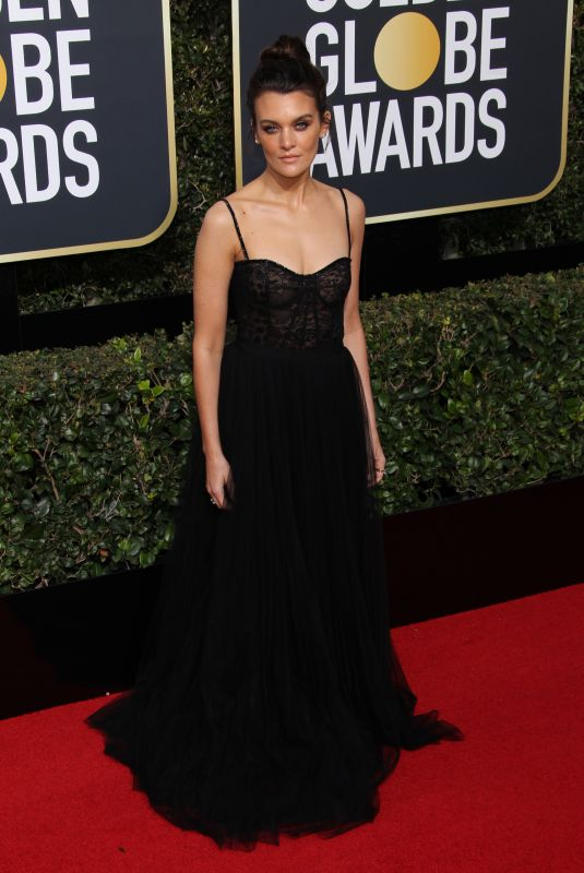 FRANKIE SHAW at 75th Annual Golden Globe Awards in Beverly Hills 01/07/2018