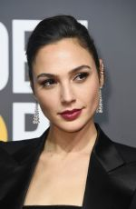 GAL GADOT at 75th Annual Golden Globe Awards in Beverly Hills 01/07/2018