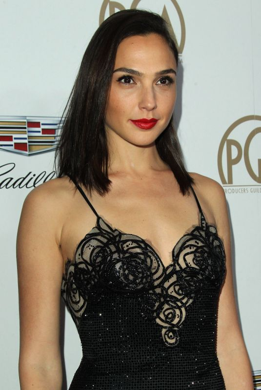GAL GADOT at Producers Guild Awards 2018 in Beverly Hills 01/20/2018
