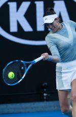 GARBINE MUGURUZA at Australian Open Tennis Tournament in Melbourne 01/16/2018