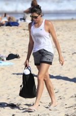 GARBINE MUGURUZA at Bondi Beach in Sydney 01/06/2018