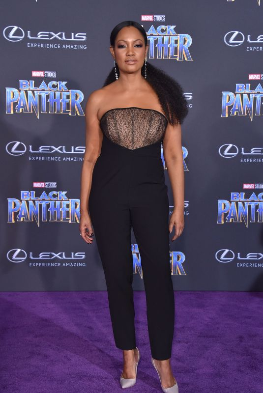 GARCELLE BEAUVAIS at Black Panther Premiere in Hollywood 01/29/2018