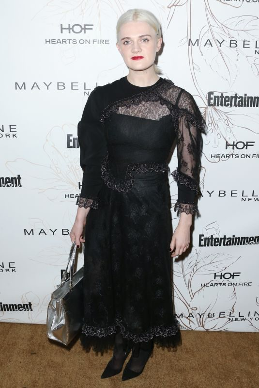 GAYLE RANKIN at Entertainment Weekly Pre-SAG Party in Los Angeles 01/20/2018