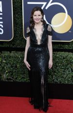 GEENA DAVIS at 75th Annual Golden Globe Awards in Beverly Hills 01/07/2018