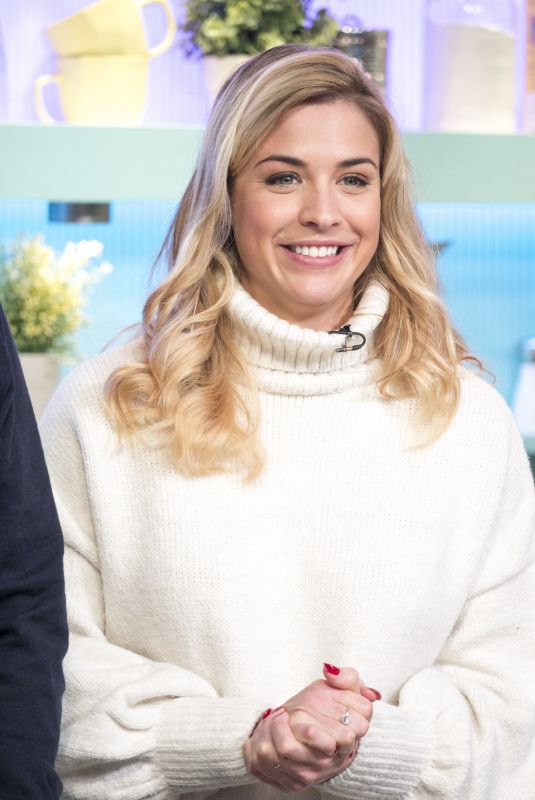 GEMMA ATKINSON at Sunday Brunch Show in London 01/14/2018