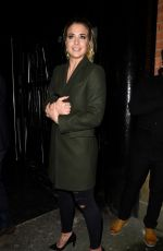 GEMMA ATKINSON Night Out in Manchester 01/27/2018